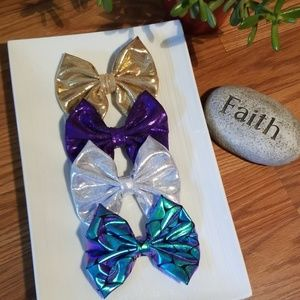 Mermaid bows 4 bows